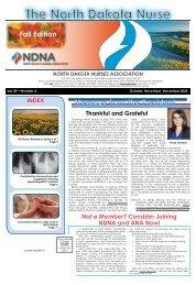 North Dakota Nurse - October 2020