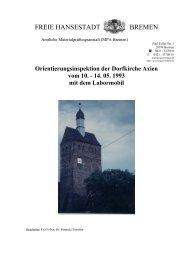 FREIE HANSESTADT BREMEN - Amtliche Materialprüfungsanstalt