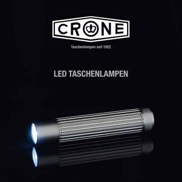 LED TaschEnLampEn - Carl v.d. Crone & Co. KG