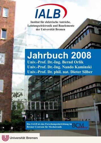 Jahrbuch 2008 - IALB - Universität Bremen