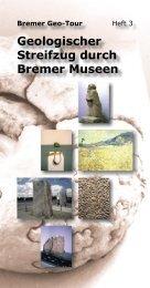Geologischer Streifzug durch Bremer Museen - Marum