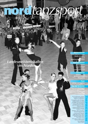 Landesmeisterschaften im Norden - Deutscher Tanzsportverband eV