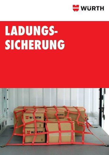 Fahrzeugeinrichtung LADUNGSSICHERUNG IN ... - Würth
