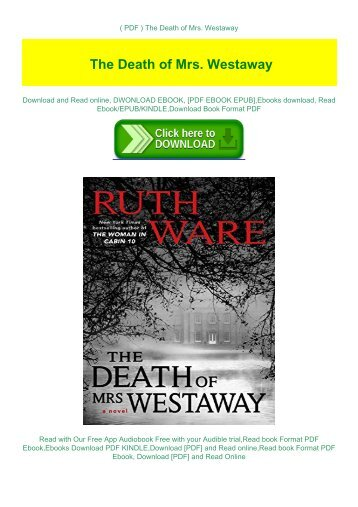( PDF ) The Death of Mrs. Westaway