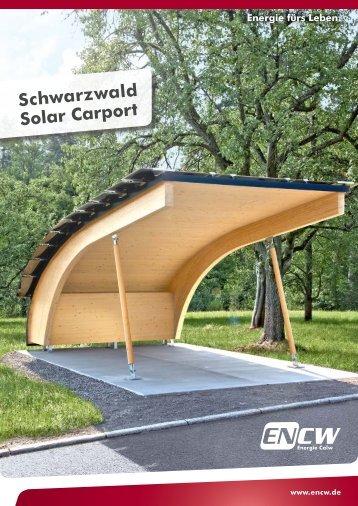 Schwarzwald Solar Carport - ENCW