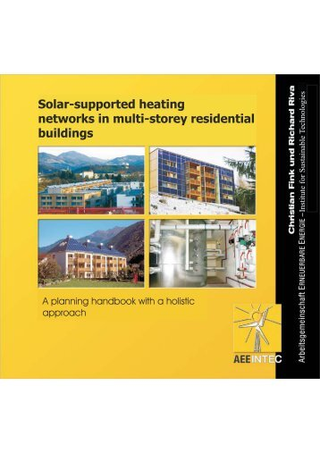 Solar-supported heating networks in multi-storey residential buildings
