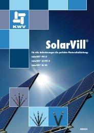 SolarVill - KWV Kabelwerke Villingen GmbH