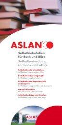 papiere Self adhesive repair film and - ASLAN, Schwarz GmbH & Co ...