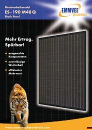 190 M48 Q Black Pearl Photovoltaikmodul - AEET Energy Group ...