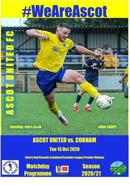 Ascot United v Cobham 131020