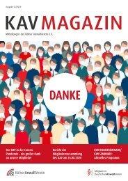 KAV Magazin Ausgabe 03-2020