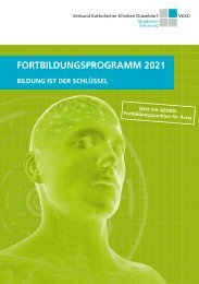 Fortbildungsprogramm 2021 -  VKKD Akademie