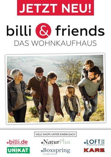 billi & friends Jahreskatalog 2020/21