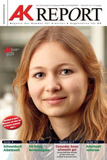 Schwarzbuch Arbeitswelt Seite 4 AK-Erfolg Bankenabgabe Seite 5 ...