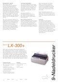 Epson Nadeldrucker-Reihe - Seite 5