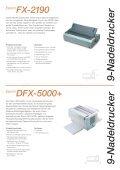 Epson Nadeldrucker-Reihe - Seite 7