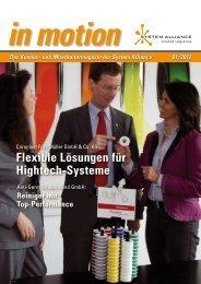 Das Kunden- und Mitarbeitermagazin der System Alliance 01/ 2012 ...