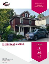 33 Highland Avenue - Marketing Flyer