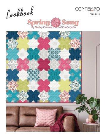 Spring Song by Shelley Cavanna Lookbook
