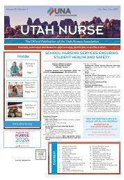 Utah Nurse - October 2020