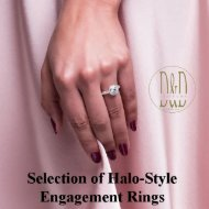 Selection of Halo-Style Engagement Rings