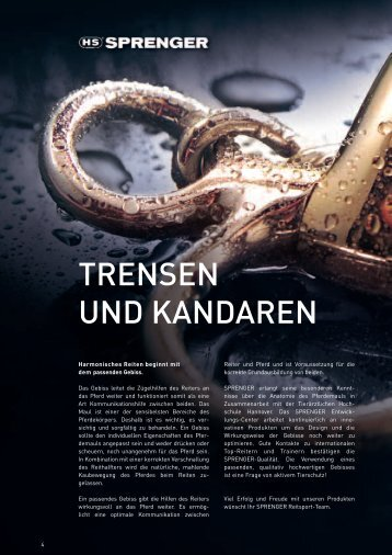 TRENSEN UND KANDAREN - Sprenger