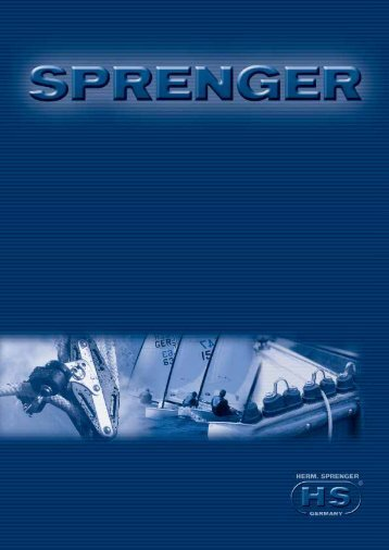 Sprenger Boot Katalog 2008-09 - One Design Center