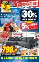 EXTRA EXTRA - Möbel-Kröger - Die Weltstadt des Wohnens