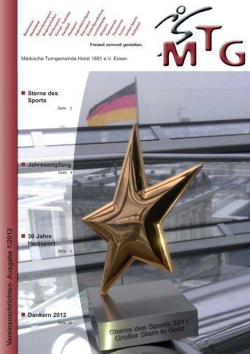 Ausgabe 1/2012 - MTG Horst