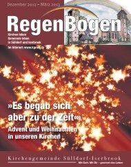 Dorfkalender 0.001 - in der Kirchengemeinde Sülldorf-Iserbrook