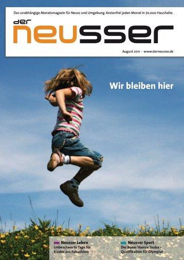 August 2011 - Der Neusser