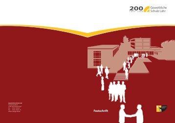 GSL Festschrift 200 Jahre - Lahr