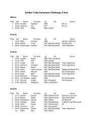 Golden Tulip Gutsmann Challenge 5km - Bramstedter Brueckenlauf