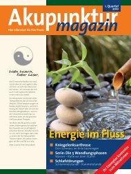 Akupunktur 1. Quartal 2010