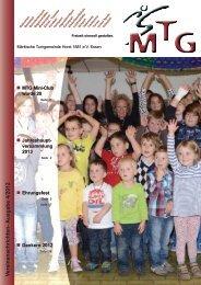 V ereinsnachrichten- Ausgabe 4/2012 - MTG Horst