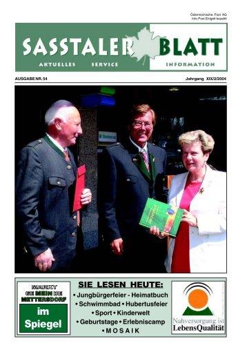 DANKE allen Spendern - Mettersdorf am Saßbach