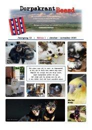 DORPSKRANT BEESD – JAARGANG 12 - NR.1