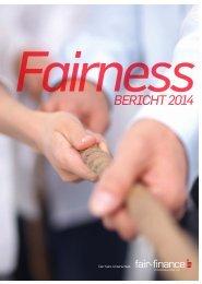 Fairnessbericht 2014