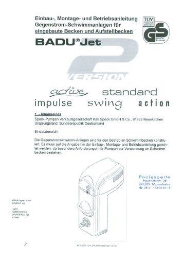 Poolexperte magazine for Schwimmbad gegenstromanlage