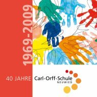 I gel - Carl-Orff-Schule