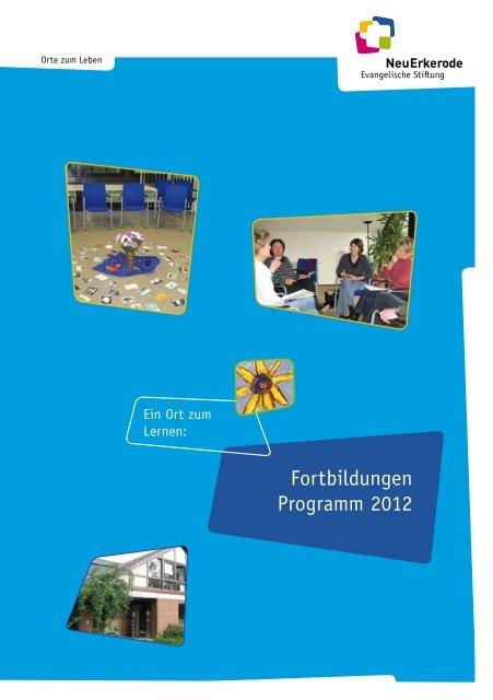 Fortbildungen Programm 2012 - NeuErkerode