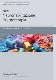 CAS Neuroriabilitazione in ergoterapia