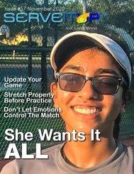 Serveitup Tennis Magazine #57