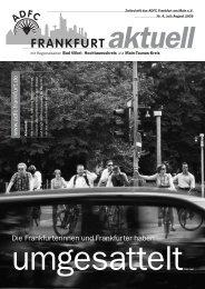 So wird Ihr Urlaub zum bewegenden Abenteuer! - ADFC Frankfurt
