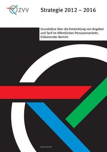 Strategie 2012 – 2016 - ZVV