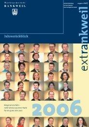 extRankweil Jänner 2007 - Marktgemeinde Rankweil