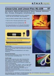 Linear-Line und Linear-Flex HL-LED 07 - Zeno Products