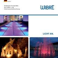 LICHT AN. - Wibre Elektrogeräte Edmund Breuninger GmbH & Co. KG