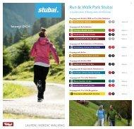 Run & Walk Park Stubai - Hotel Jagdhof