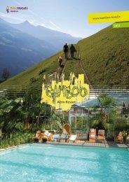 Hotelprospekt - Bamboo